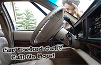 Car locksmith service
